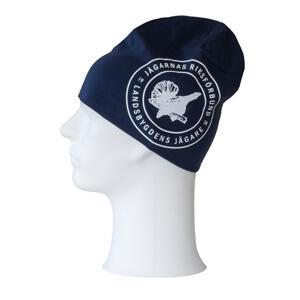 Mössa med tryck, Jägarnas Riksförbund emblem, mörkblå